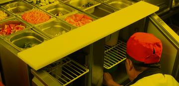 طراحی ، ساخت و خدمات پس از فروش تجهیزات آشپزخانه صنعتی ، کافی شاپ ، فست فود در هپتااستیل