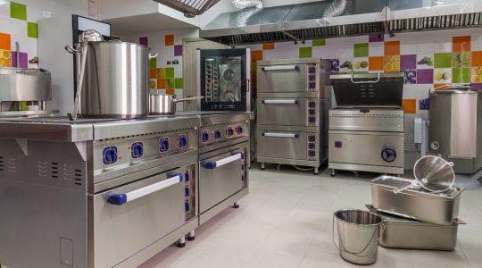 تجهیزات آشپزخانه صنعتی هپتا استیل
