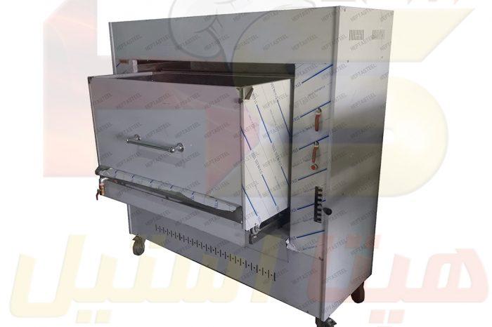 دستگاه کباب پز تابشی هپتا استیل
