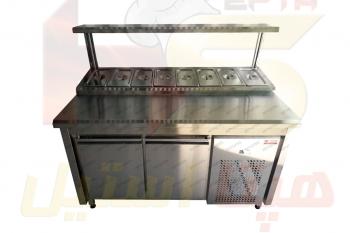 دستگاه تاپینگ پیتزا هپتااستیل